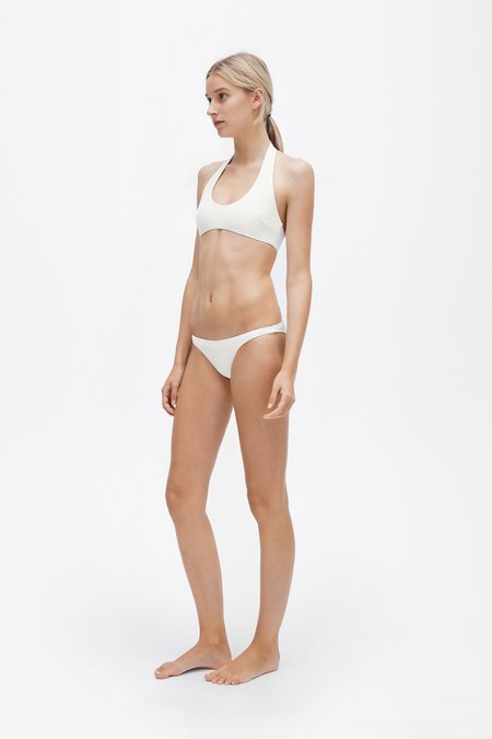 Her Line Ren Two-piece Set - Milk white