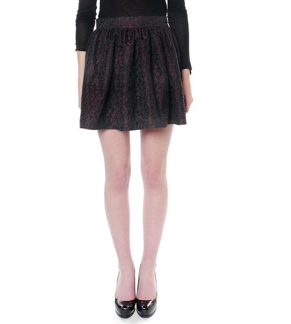PARTY SKIRTS Classic Leopard Print Skirt