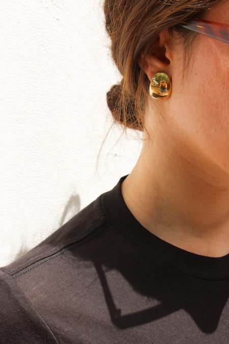 Fay Andrada Cassi Earrings - Brass