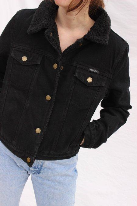 Rolla's Jeans Sherpa Jacket - Black