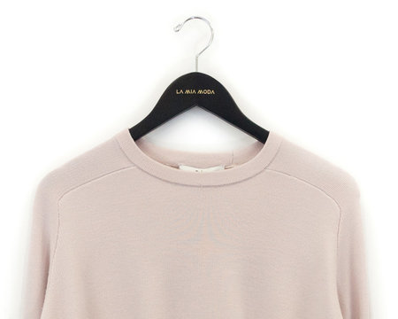 Tibi Merino Wool Silk Combo Sweater