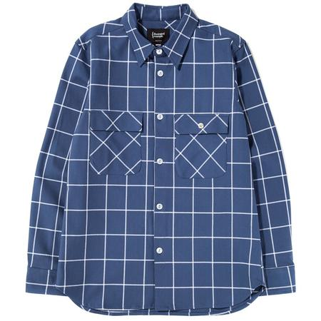 {ie Work Shirt - Blue/White Check