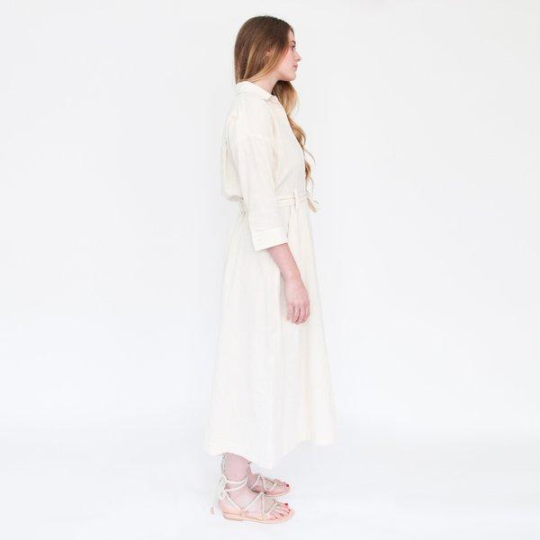 Esby Mabel Shirt Dress - Natural