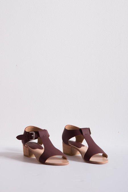 A Détacher Highsmith Sandal Leather - Bordeaux