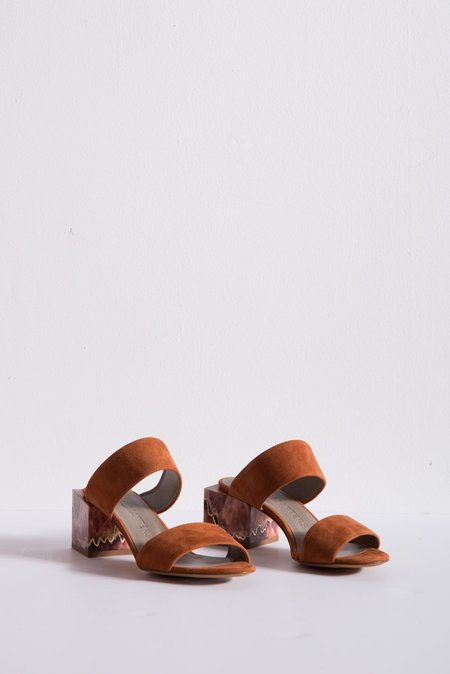 Gray Matters Marmo Sandal - Caramelo & Marrone