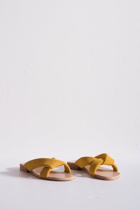 A Détacher Pipit Sandal Suede - Citron