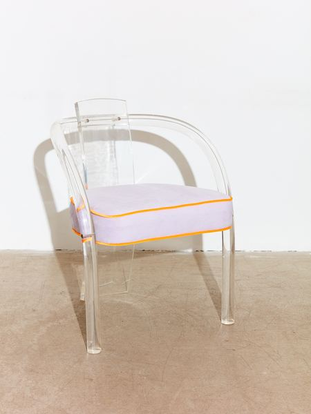 Coming Soon Lucite Armchair