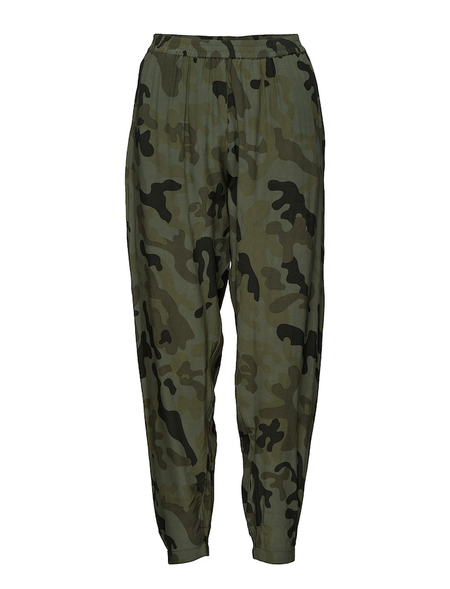 Rabens Saloner Sidney Pant - Camouflage