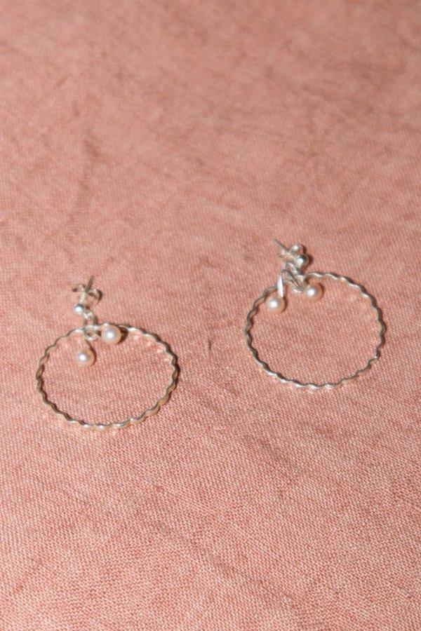 Open House Pomme Earring - Silver