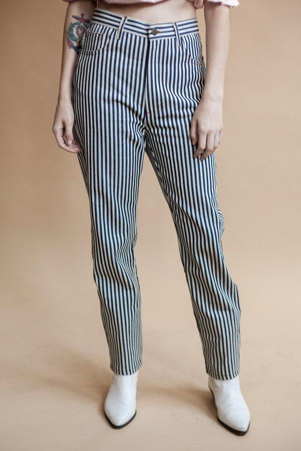 Lykke Wullf Stripe Cowboy Pants (Pre-Order)
