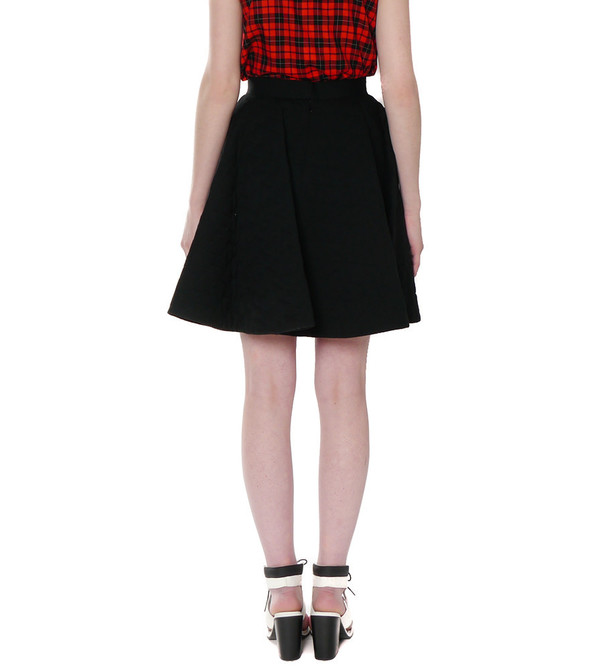 G.V.G.V. Heart Quilted Flare Skirt