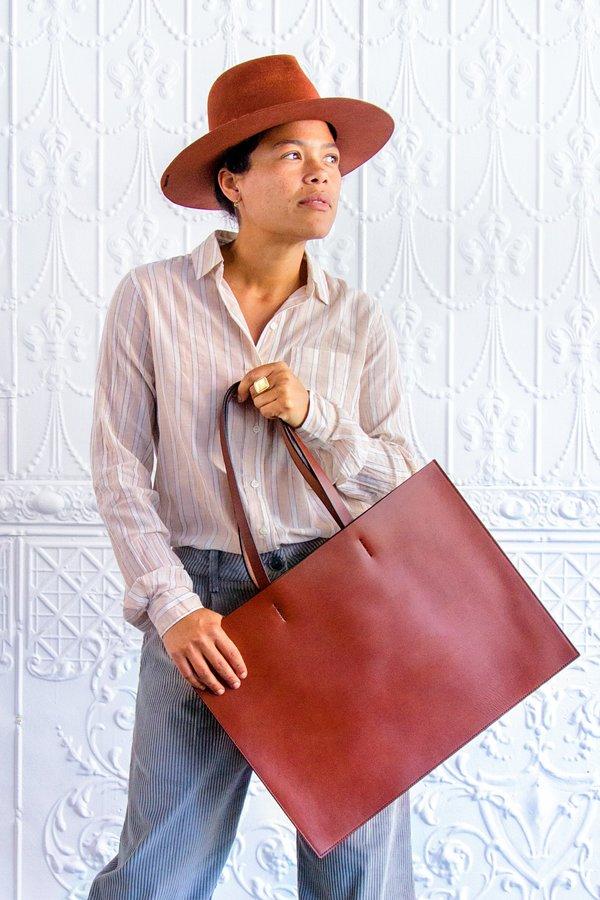 Sara Barner Cognac Sheridan Bag