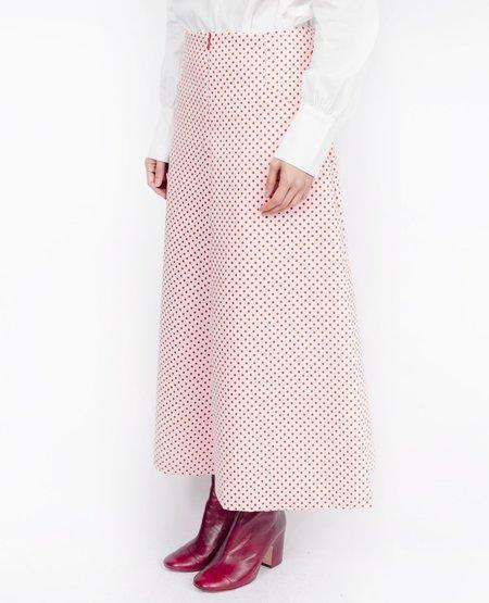Joy Mao Polka Dot Culottes - Red