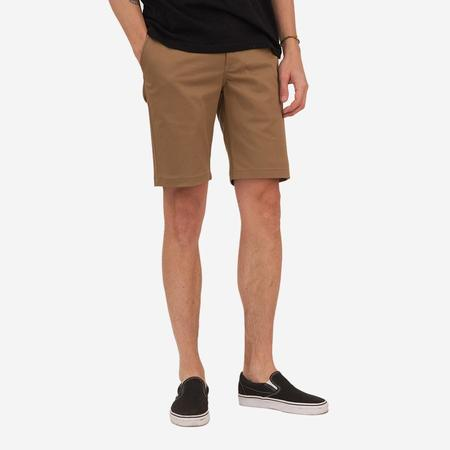 Bon Vivant Keenan Lightweight Twill Shorts - Tan