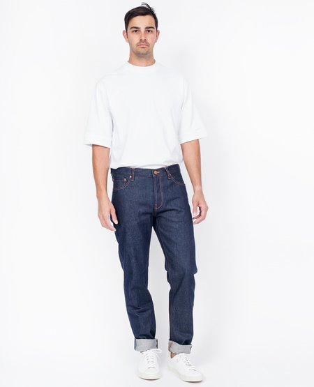 Han Kjobenhavn Tapered Jean - Dark Blue Raw