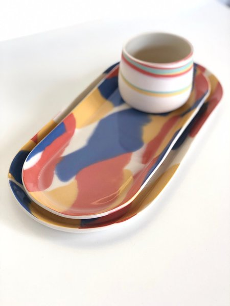 Clay Factor Serving Trays
