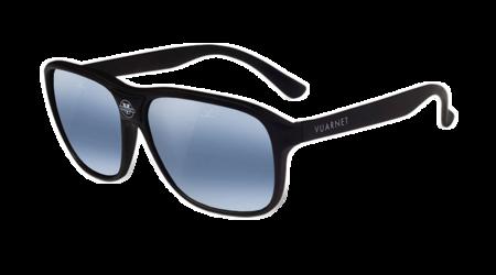 Unisex Vuarnet The Dude Sunglasses - Matte Black