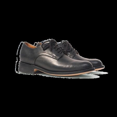 Westerlind 1940's Naval Officer Derby Shoe - Black