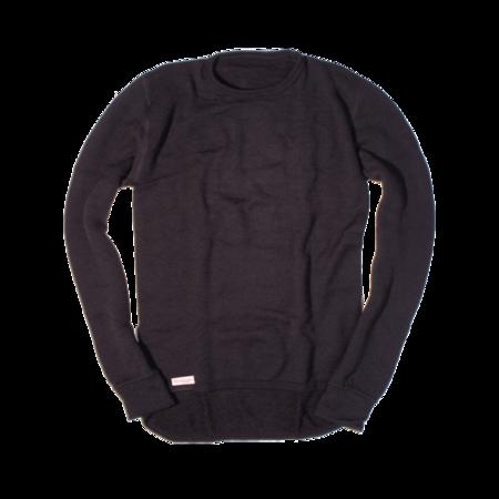Unisex Woolpower 200g Crewneck Sweater - Black