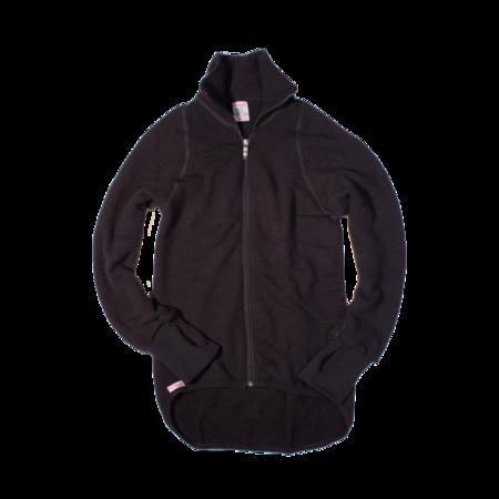 Unisex Woolpower 400g Full Zip Jacket - Black
