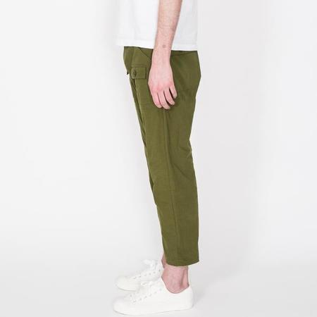 Unisex Battenwear 7/8 Trek Pants - Olive
