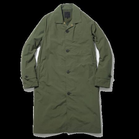 Unisex Goldwin Bal Collar Coat - Olive