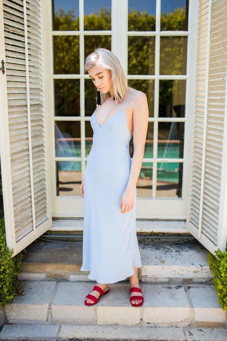 BETWEEN TEN Renee Slip Dress - Sky Blue