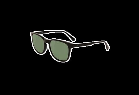 Unisex Vuarnet District Medium Square Sunglasses - Black