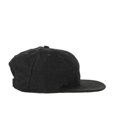 Unisex FairEnds Flannel Ball Cap - Black