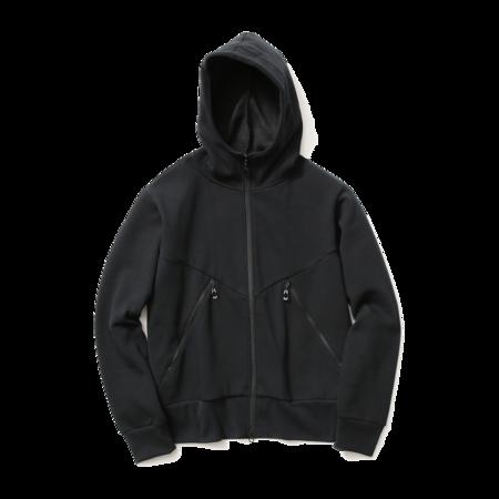 Unisex Goldwin Front Zip Hoodie - Black