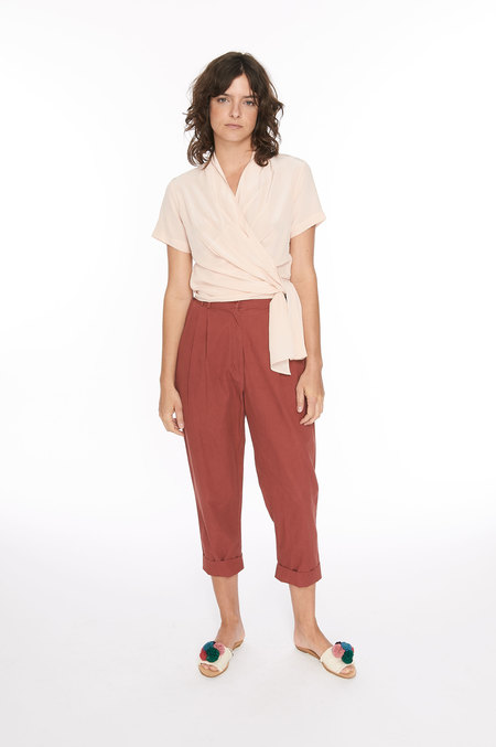 WRAY Fielding Pant - currant