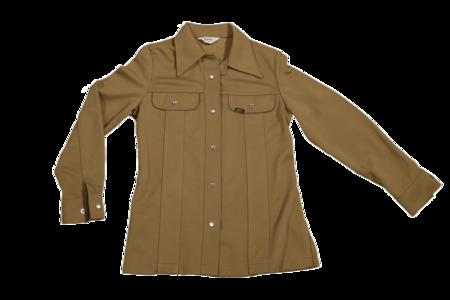 Unisex Vintage Lee Shirt - Tan