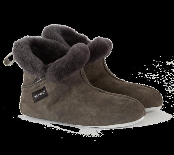 Woolrich x Westerlind Mariette Women Boots - Asphalt w/ Grey Wool