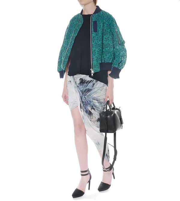 Helmut Lang Asymmetric Wrap Skirt