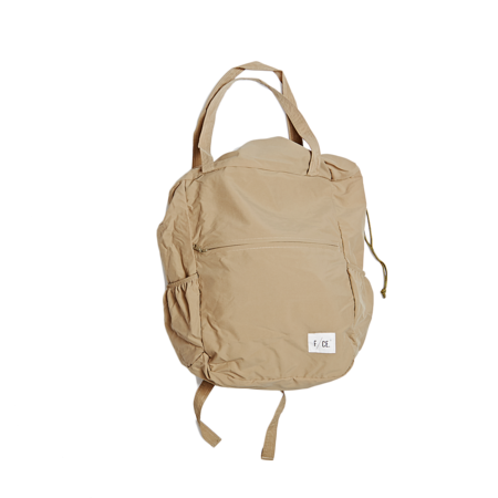 Unisex F/CE Packable Tote - Beige