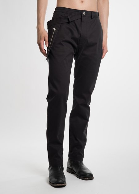 Helmut Lang Black WB Pocket Pant - Black