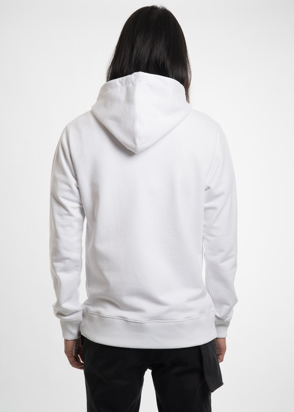 Helmut Lang White Puppy Hoodie - White
