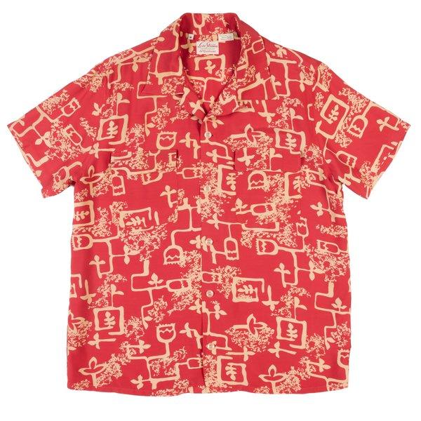 Levi's Vintage Clothing LVC 1940's Hawaiian Shirt - Lark Baked Apple