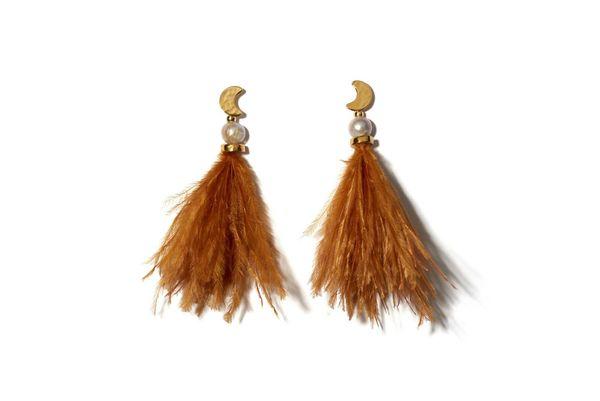 Lizzie Fortunato Parker Earrings - Copper