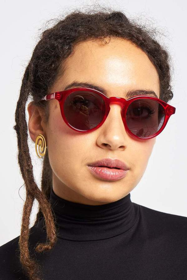 Sun Buddies Zinedine - Transparent Red