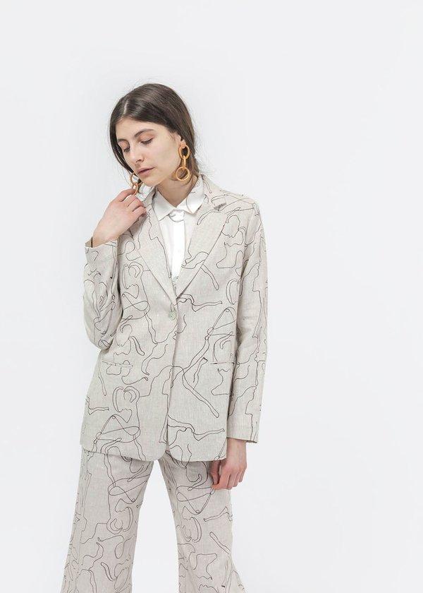 Paloma Wool Alora Blazer - Grey