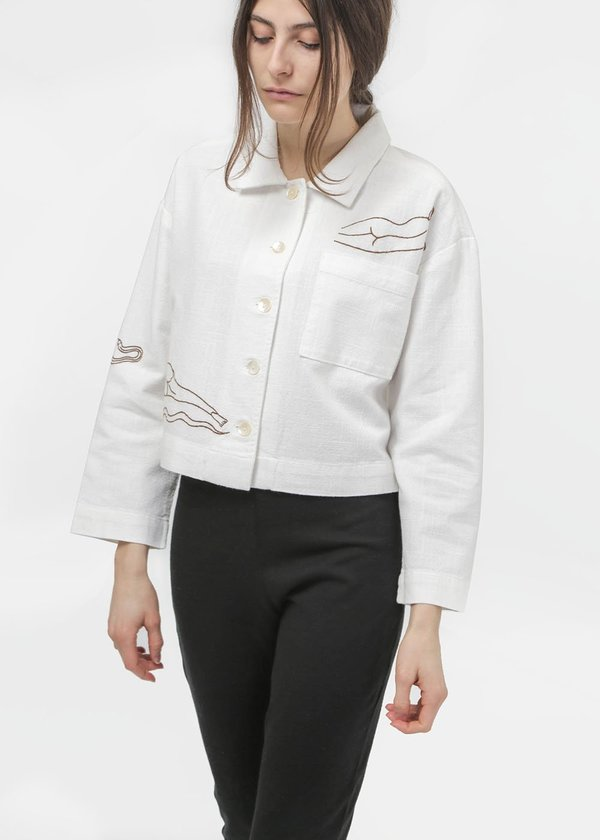 Paloma Wool Uma Jacket - White