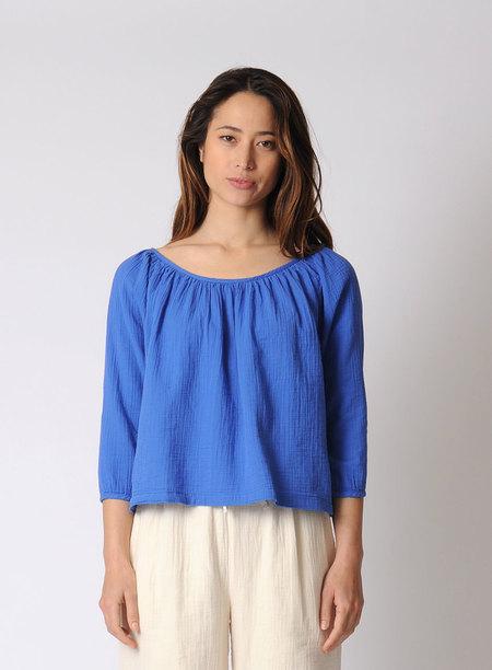 Atelier Delphine Afton Top Cobalt - Blue