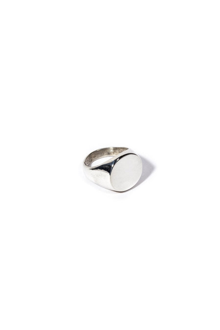 E.M. Kelly Signet Ring - Sterling Silver