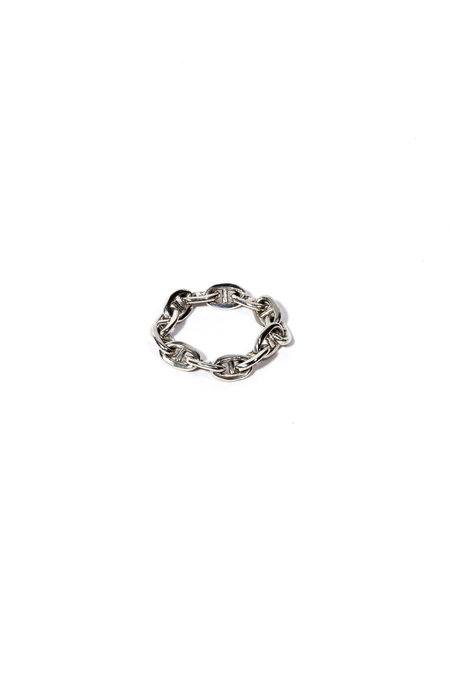 E.M. Kelly Mariner Chain Ring - Sterling Silver