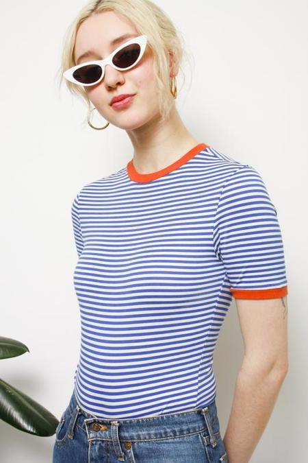 Capulet Bette Bodysuit - Blue Stripe