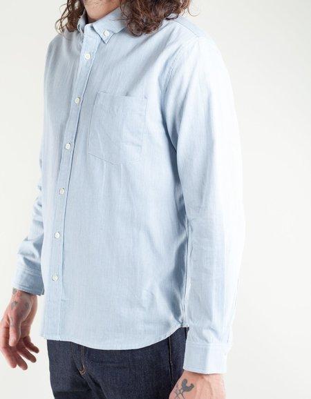 Native North Striped Fifties Shirt - Blue
