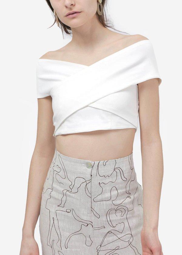 Paloma Wool Dela Top - White