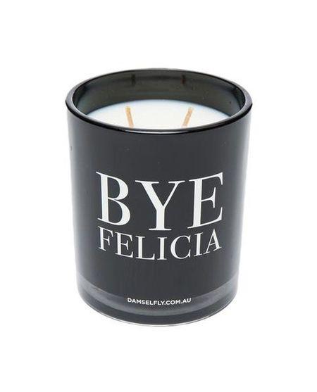 Damselfly CANDLE - BYE, FELICIA