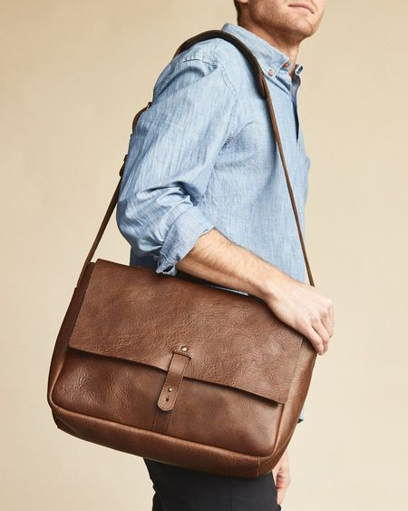 Nisolo Loreto Messenger Bag - Chestnut